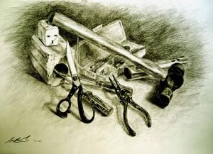 Charcoal/Pencil